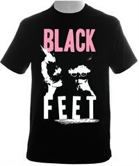 Black Feet T-shirt S