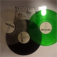 PAKET: Holograms: Surrender 3 x LP (BLACK, TRANSPARENT, GREEN VINYL), bild 1