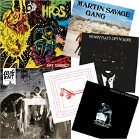 "Slug Bait LP HFOS LP HFOS 7"" Martin Savage Gang 7"" Kalle hygien 7"" Friends of Dorothy 7"" PACK, bild 1413"