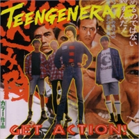 Teengenerate: Get Action! LP (crypt), bild 1
