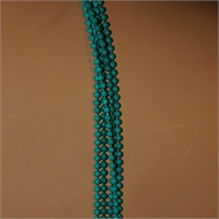 5 Strand Turquoise Necklace With Small Beads